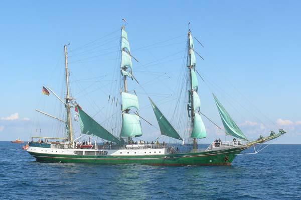Alexander von Humboldt II | German Sail Training Foundation, Bremerhaven