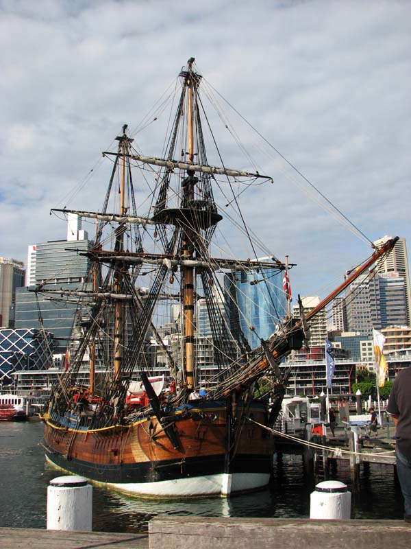Bark Endeavour replica | Australian National Maritime Museum