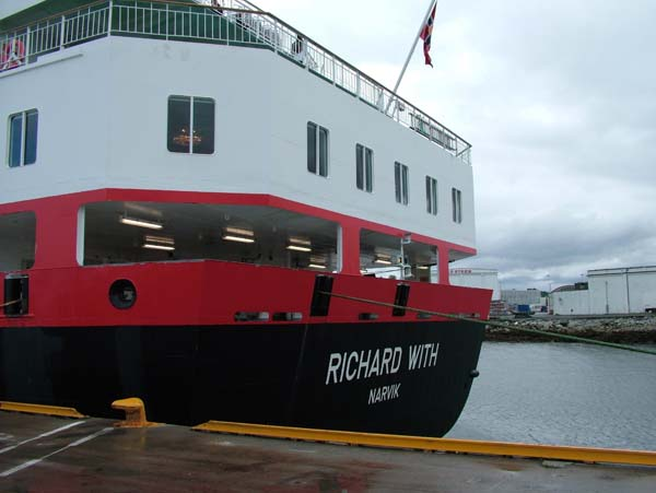 Richard With   Hurtigruten