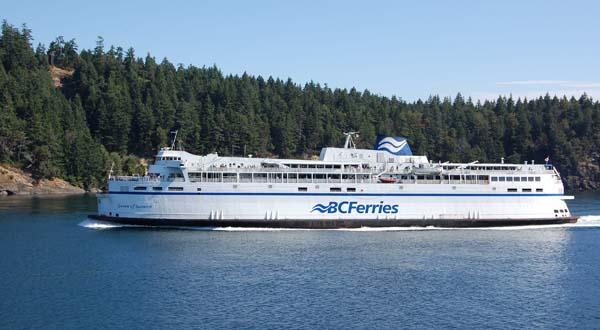 Queen of Saanich   BC Ferries