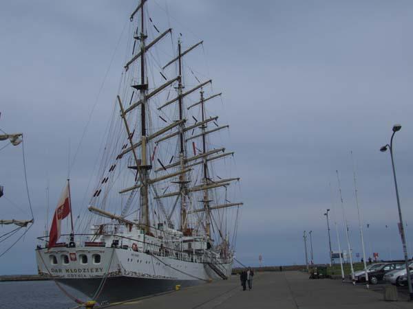 Dar Mlodziezy | Merchant Marine Academy, Gdynia